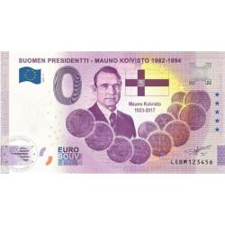 FI - Suomen Presidentti - Mauno Koivisto 1982-1994 - 2021