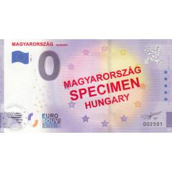 HU - Magyarorszag Hungary - 2021 (Specimen)